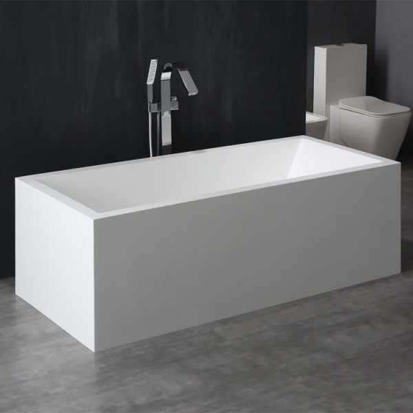 stoneart badewanne freistehend bs 523 wei 180x81 matt online einkaufen. Black Bedroom Furniture Sets. Home Design Ideas